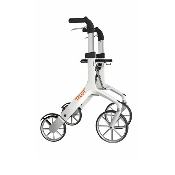 Lets Fly Rollator White