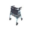 Cobalt Blue EZ Fold-N-Go Rollator