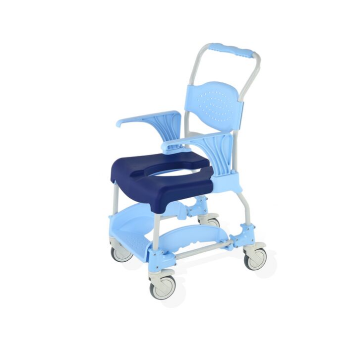 Aqua Shower Commode Chair with open soft seat