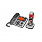 Desk and Cordless Phone System Big Tel 1480