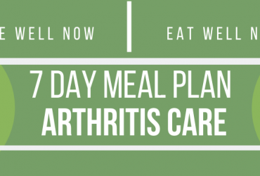 7 Day Meal Plan for Arthritis Care