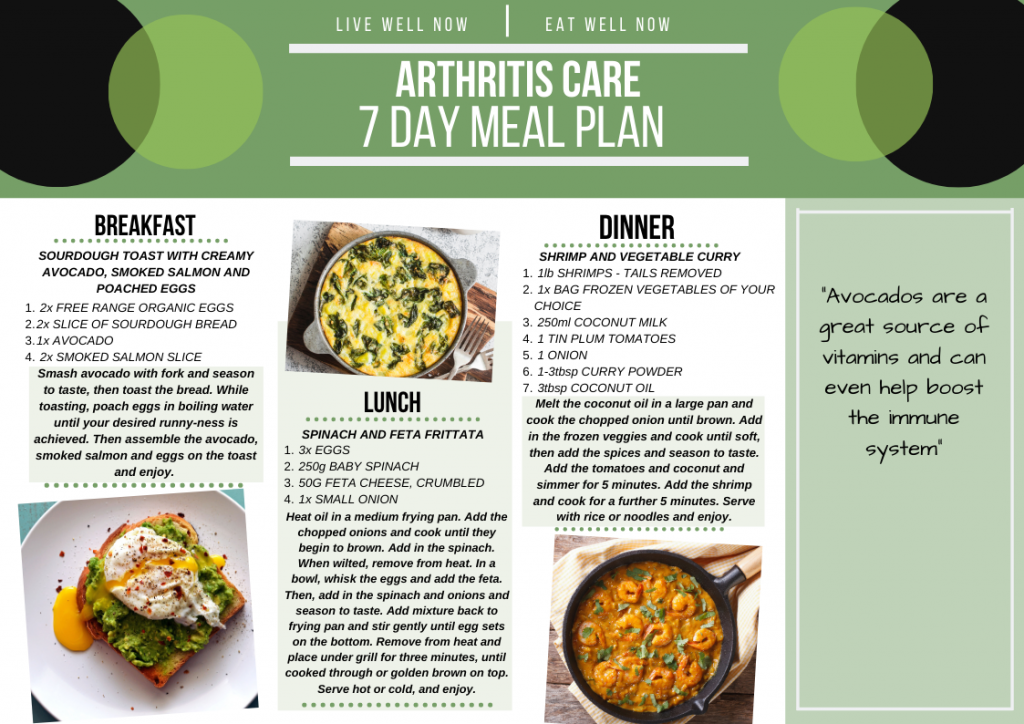 Day 1 Meal Plan