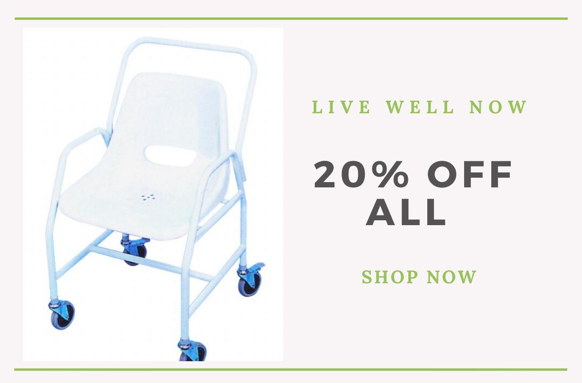 shower offer 20% off