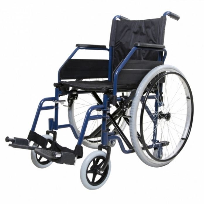 Folding Self-Propelled Wheelchair